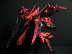 GUNDAM GUY: 1/144 MSN-04 II 'Nightingale' - Painted Build
