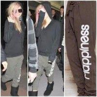 Avril Lavigne in Happiness Turca Sweats