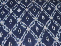 Handloom Ikat Cotton Fabric Handwoven Ikat by Indianlacesandfabric