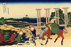 Senju in the Musachi provimce.jpg-Trente-six vues du mont Fuji- Katsushika HOKUSAI