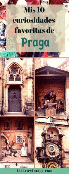 Curiosidades de Praga. Mis 10 favoritas. La carte vintage