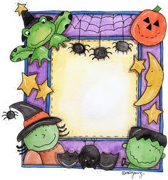 HALLOWEEN - Karmelina - Picasa Web Albums - area for card sentiment