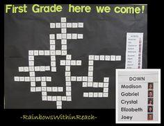 RainbowsWithinReach: 'Graduation' Bulletin Board Crossword
