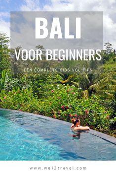 Een complete reisgids voor reizigers die voor het eerst naar Bali gaan incl. tips voor mooie hotels, wat te zien, geldzaken en meer! Travel Checklist, Travel Guide, Bali Travel, Lombok, City Break, Plan Your Trip, Places To Go, Beautiful Places, Tours