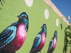 The Arts District in Downtown Phoenix is rich with colorful murals. This post in no way captures all of the artwork but gives a glimpse into the colorful ...