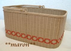紙バンド Paper Basket, All Craft, Blog Entry, Handicraft, Baskets, Crafts, Japanese, Diy Clutch, Craft