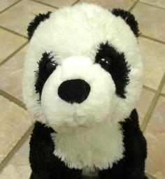 "Ty Rare Panda Bear Plush World Wildlife Foundation WWF Limited Stuffed Animal Toy 14"" Inch"