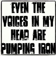 LOVE! Lift weights!