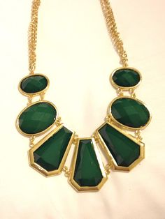 GS Green Gold Necklace only $32! www.scoutandmollys.com