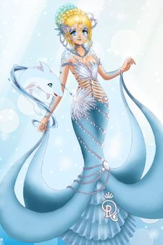 DDNTMSS Eos Lagana: Elements - Water by AvalonTheQuin ~ Sailor Moon Dress Up
