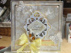 Drakes Field Cards: Just love Butterfly's California Napa Valley, Basic Frames Set A Butterfly Cards, Butterfly Kisses, Sue Wilson, Just Love, Drake, Handmade Cards, Wedding Cards, Cardmaking, Card Ideas