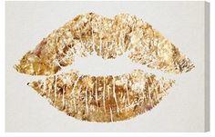 Oliver Gal 'Kiss' Wall Art