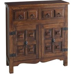 Pier 1 Imports Ashok Cabinet (€425) ❤ liked on Polyvore featuring home, furniture, storage & shelves, cabinets, cabinet, mango wood cabinet, pier 1 imports furniture, storage cabinets, hardware storage cabinet and hardware furniture