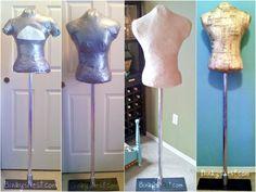 My website is now twenty8divine.com. Create Your Own Vintage Inspired Dress Form - DIY