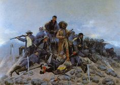 The Last Stand, Remington