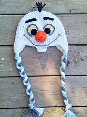 Ravelry: Olaf The Happy Snowman Hat pattern by Ann J Bacon