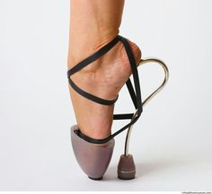 Extreme shoes - abstract ballerina