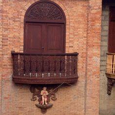 Angel designed Balcony