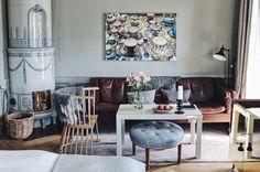 SWEDISH STYLE LIVING ROOM
