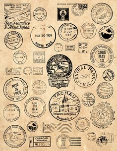 Old Cancellation Sign Clipart Vintage Postage Cancellation Mark Clipart. - Old Cancellation Sign Clipart Vintage Postage Cancellation Mark Clipart. Vintage Clip Art, Album Vintage, Papel Vintage, Vintage Scrapbook, Vintage Stamps, Vintage Labels, Vintage Ephemera, Vintage Paper, Vintage Images