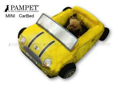 Mini Cooper  dog bed from Pampet