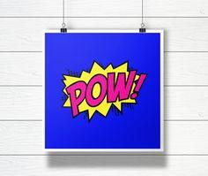 POW - Digital Comic Book Illustration