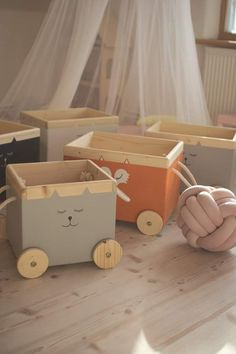 Animal Design Toy Box Box Home Accessories . - Animal design toy box box Home accessories toy rooms animal design toy box h - Baby Room Furniture, Kids Furniture, Furniture Outlet, Luxury Furniture, Discount Furniture, Rustic Furniture, Toy Storage, Storage Boxes, Kids Study Desk