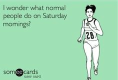 Long runs in the wee hours of Sat mornings isn't normal? running ideas gym, running ideas motivation, running ideas tips Xc Running, Running Memes, Running Workouts, Running Tips, Girl Running, Funny Running Quotes, Running Plan, I Love To Run, Run Like A Girl