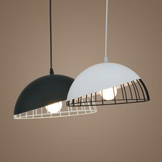 Nordic suspension lighting  Dining Room Lights Pendant Lamp Retro loft industrial vintage pendant lights AC110V/220V E27 #Affiliate