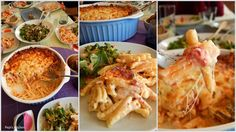 Traditional and modern Greek Recipes in english, made in Pepi's kitchen! Tomato And Cheese, English Food, Pasta Bake, Cook At Home, Greek Recipes, Cabbage, Chicken, Meat, Baking