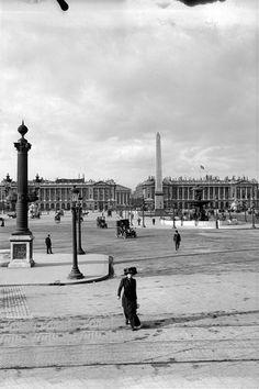 Place de la Concorde vers 1910