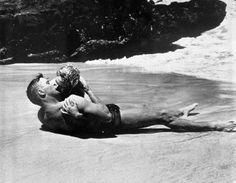 Burt Lancaster, Deborah Kerr, de aqui a la eternidad 1953