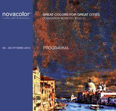 """""""Great Colors for Great Cities"""" la Convention di #Novacolor che si è tenuta nel luogo più bello del mondo: #Venezia.  Un'atmosfera visionaria, dove il #Colore e i #Sogni faranno da protagonisti. La #Città, l' #Arte e la #Storia, si presenteranno in un unico evento carico di ispirazioni."""