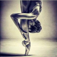 serious dance inspiration- beautiful ballet dancer - amazing grace and balance