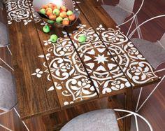 Mandala Style pochoir pour la décoration par StencilsLabNY sur Etsy