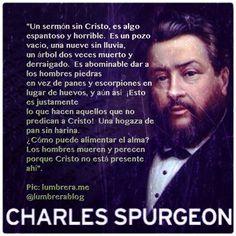 charles spurgeon sermon sin cristo [ EnAcCiOn ]