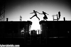 leap of faith by Tyler Shields.  Although known for his controversial or celebrity culture photography, a lot of his work is beautiful.