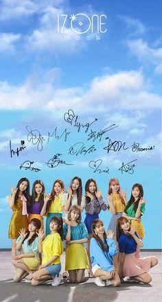 Izone Kpop Girl Groups, Korean Girl Groups, Kpop Girls, 3 In One, One Pic, Nayeon, Yuri, Pre Debut, Foto Real