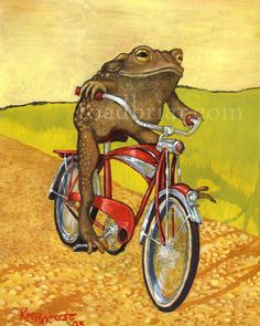 Funny Frogs, Cute Frogs, Frosch Illustration, Illustration Art, Frog Pictures, Frog Art, Frog And Toad, Dog Signs, Sign Printing