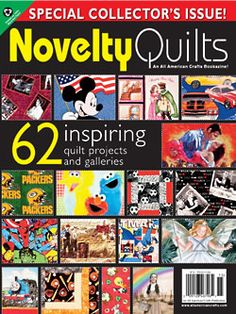 """Novelty Quilts"" bookazine (from All American Crafts)"