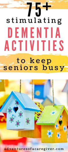 75+ Stimulating Activities for Alzheimer's & Dementia Patients