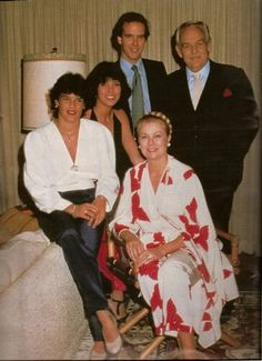 the princely family on Rainier & Grace's 25th anniversary April 1981