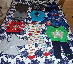 10x-Bundle-of-Boys-Clothes-1-2-YEARS-OLD-SCOTT-FOX-H-M-THOMAS-CARS-F-F-GEORGE