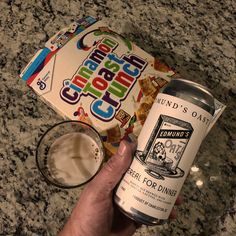 Edmund's Oast Brewing Cereal for Dinner #edmundsoastbrewingco @edmundsoast #craftbeer #beershots #beerporn #instabeer #drinklocal #drinklocalnow #brewpon #craftlifestyle Blonde Ale, Baking Ingredients, Craft Beer, Cookie Dough, Brewing, Cereal, Community, Dinner, Food