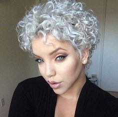 Short Curly Hairstyles For Women New Short Curly Hairstyles For Womens …  Curly Ha…