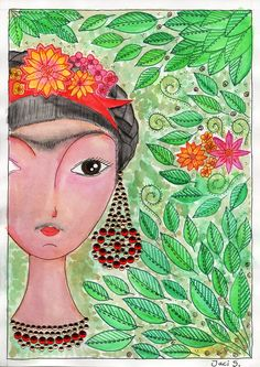 Frida (por Jacilene S.)