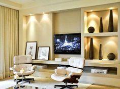 Drywall na sala de estar
