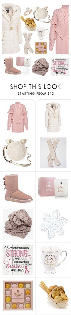 """Untitled #167"" by natashaftr on Polyvore featuring Mother of Pearl, Kensie, LC Lauren Conrad, UGG, Katie Loxton, Disney, Saks Fifth Avenue and thewinteriscoming"