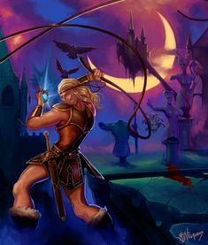 CastleVania Simon Belmont by GreenStranger on DeviantArt Alucard, Video Game Characters, Video Game Art, Jojo's Bizarre Adventure, Dracula, Legend Of Zelda, In This World, Book Art, Animation