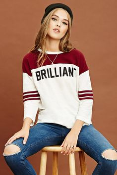 "Sudadera Universitaria ""Brilliant"""
